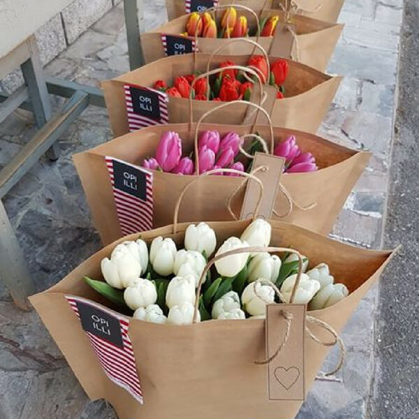Borse di tulipani