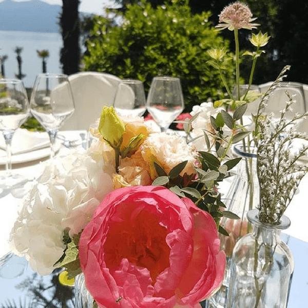 Allestimento matrimonio con peonia