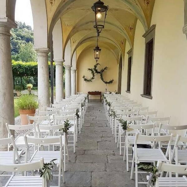 Allestimento matrimonio - olivo